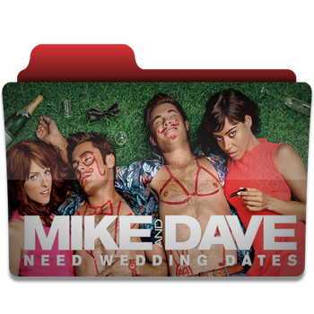 Mike And Dave need wedding dates folder icon by PanosEnglish