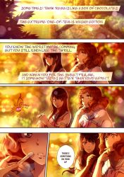 Reina x Kumiko short comic pg.1 by CherryInTheSun