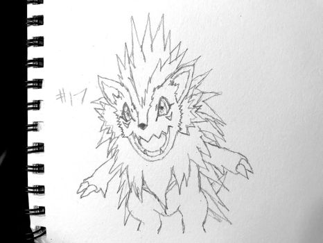 Digimon Sketch Challenge: Day #17 by Omnimon1996