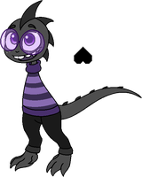 Noctale Monster Kid by ShylaShadow