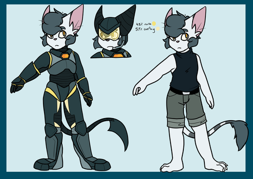 Theo Cadet - original species ver. by morrysillusion