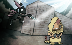 Sneasel Assassin by WillDrawForFood1