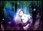 Enchanted in the forest by Aramisdream