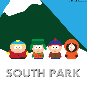 South Park by WolfTron