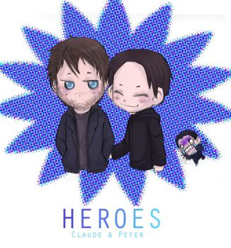 Heroes- Claude n Peter again by Heroes-Couples-Club