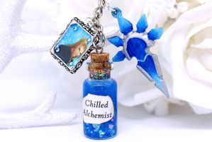 Kingdom Hearts Vexen Keyring by SophieXSmith