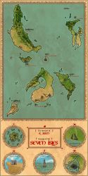 The Seven Isles by tipexleloup