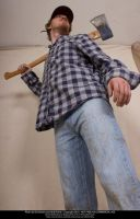 Axe Man Foreshortening 02 by Null-Entity