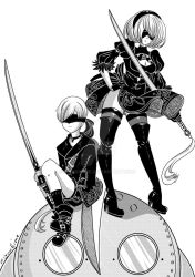 NieR Automata by MiyuuHime
