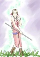 Worried Aerith by chibipandora