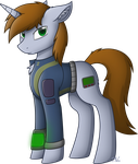 Fallout Equestria - Littlepip by StarlessNight22