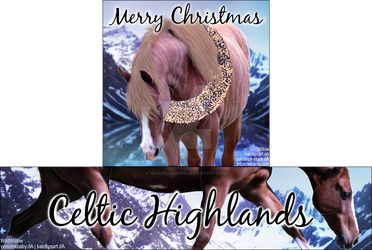 HEE Stable Set - Celtic Highlands by WildWillowHEE