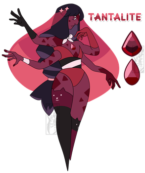 FUSION COMMISSION: Tantalite by Deer-Head