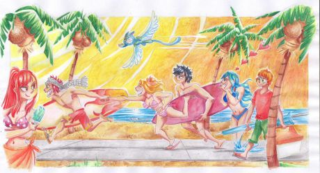 Fairy Tail Summer Contest!! Entry #5 by LuLucho1