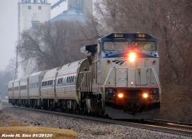 Amtrak 304 led by AMTK B32W 500 by EternalFlame1891