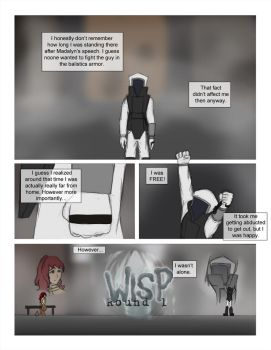 Wisp: Round 1 page 1 by Dancing-Sword