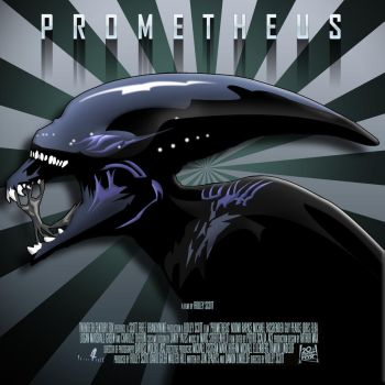 prometheus vectored by R-Clifford