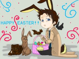 Happy easter every one by Supernatural-Fox