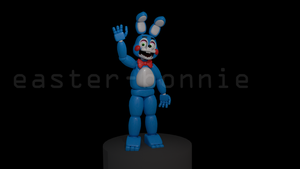 Toy Bonnie [UPDATED!!] by TickTockGJ