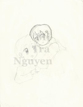 (Unfinished) Young Haru and Tamaki by forevervirgin