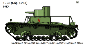 T-26 (Command) (ver.1932) by P0landWW2