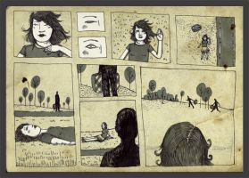 the girl with the suitcase by mathilde