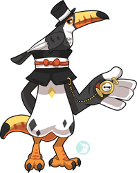 Bavom #136 - Toco Toucan by Beaniamasterlist