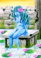 Water Lady by annaredhood