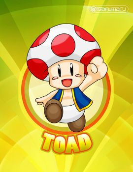 Toad is the main fungus! by Sarumaru