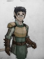 DnD character - Phira by SteamMouse