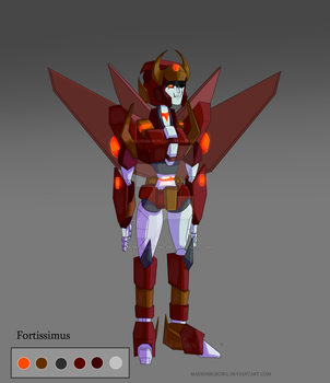 Fortissimus (MTMTE OC) by Madnessgrowl