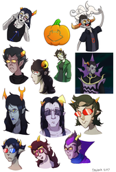 Homestuck Art Dump by Trelock