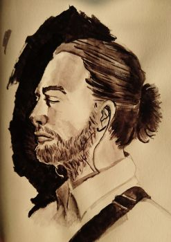 Thom Yorke by Countess-Nynke