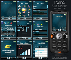 Tronnix For Sony Ericsson by ipholio