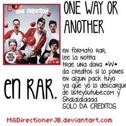 One Direction One Way Or Another musica by MiliDirectionerJB