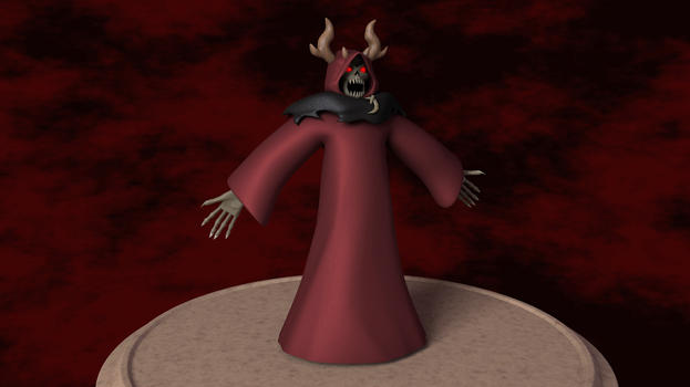 The Horned King 3D Model by TheRPGPlayer