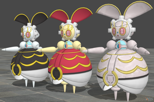 XPS Pokemon Sun and Moon Magearna