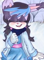 Contest entry: Periwinkle the rabbit. by Bowgirl5
