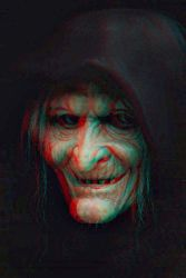 Witch Conversion 2D to 3D by Fan2Relief3D