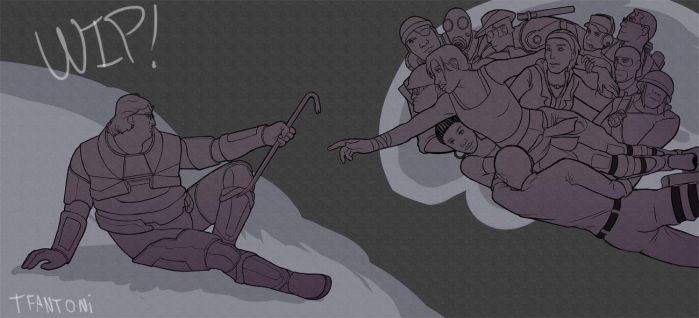 [WIP] The Creation of Valve Characters by tfantoni
