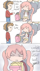 Bus seats by AnySketches