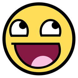 Awesome Face  - HQ Vector PSD by janek2012