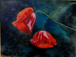 Poppies I by Yolant