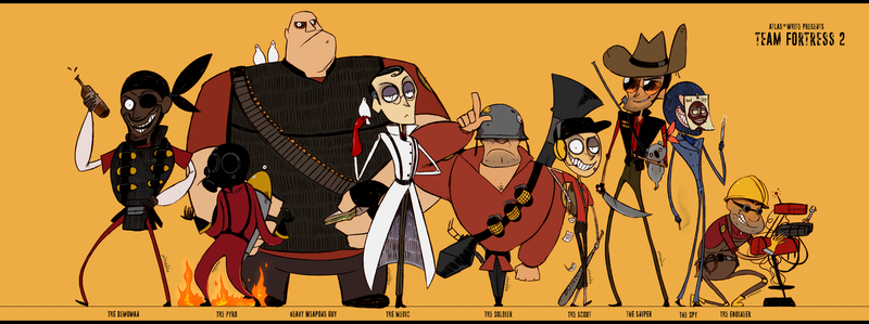 Team Fortress 2 by Atlas-White
