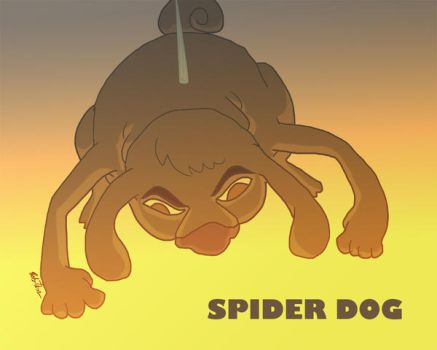 spiderdog by Nanobear