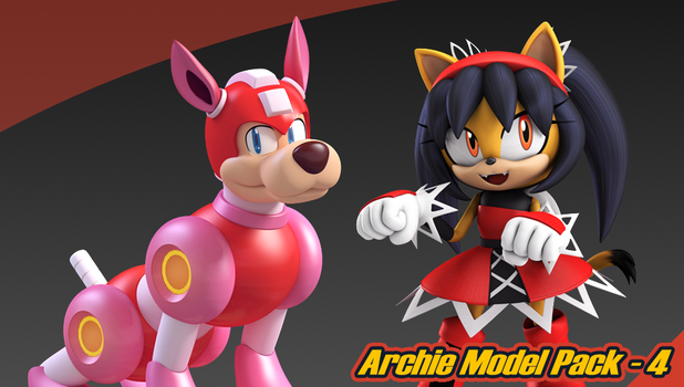 Archie Model Pack 4 by Elesis-Knight
