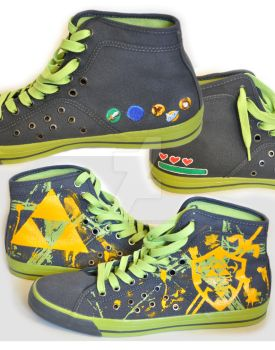 Legend of Zelda: OoT Converse by TheProductionist