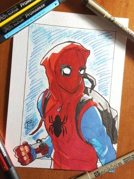 Day 319 Spiderman by TomatoStyles