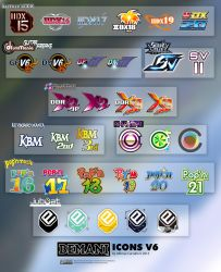 Bemani Icons V6 by Alforata