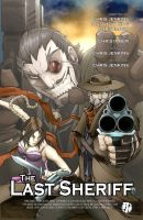 The Last Sheriff Issue 1 Inside Cover by RecklessHero